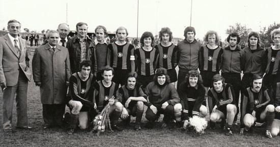 Karlsruher FV, nordbadischer Amateurmeister 1974, das letzte Highlight