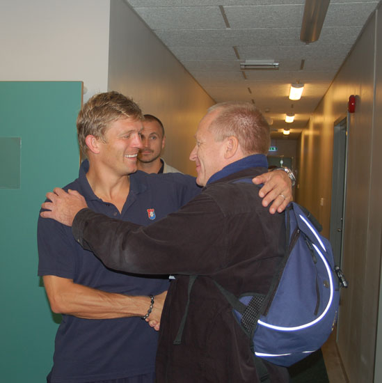 Marcus Ahlbeck, Horst Bläsig, Göteborg, Gamla Ullevi