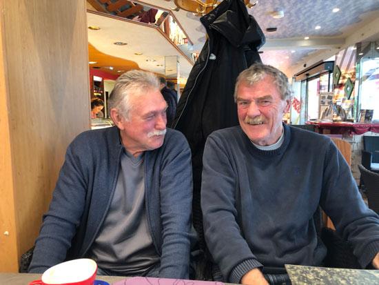 Karlheinz Kwolek und Thomas Gubitz, Karlsruher FV