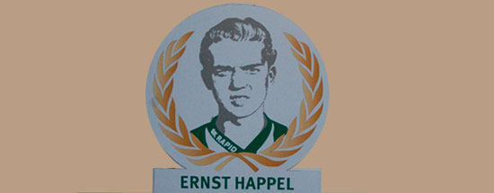 Ernst Happel, SK Rapid Wien