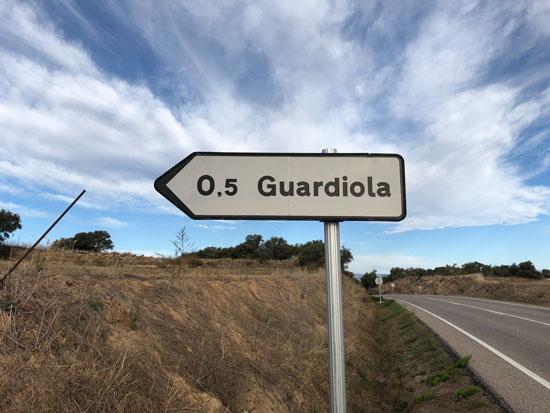 San Salvador de Guardiola, Catalunya, Josep Guardiola