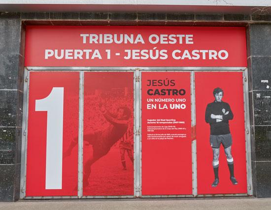Jesús Castro González, real Sporting Club de Gijón