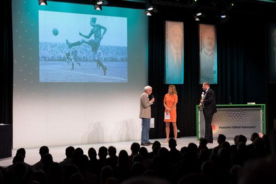 Bernd Beyer, Preisverleigung Deutsche Akademie für Fußballkultur