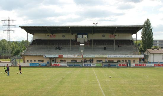 Stadion Brötzinger Tal, Pforzheim, Tribüne, 2011