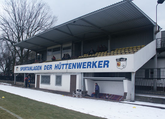 Stadion der Hüttenwerker, Eisenhüttenstadt